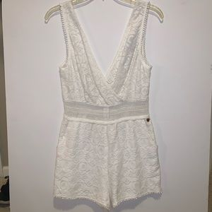 Kendall + Kylie Lace Romper